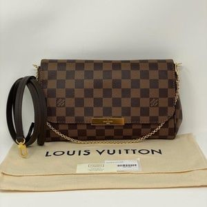 Louis Vuitton Favorite MM Damier Ebene Cross Body